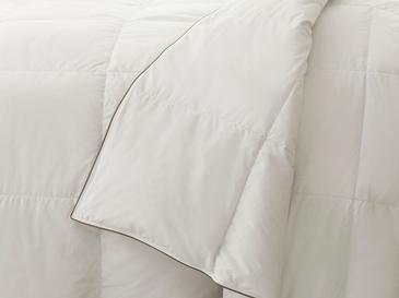 Super Soft Юрган Гъши Пух Единичен Размер 155x215 См Бяло