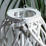 Shiny Фенер Бамбук 17x22 См Бяло