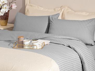Crystal Комплект Спално Бельо Единичен Размер 160x220 См Сиво