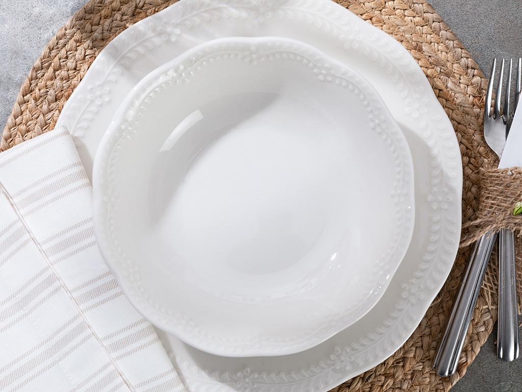 Vienna Porcelain Bowl 20 Cm Light Cream