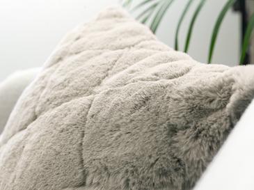 Rabbit Декоративна Калъфка за Възглавница 45x45 См Бежово