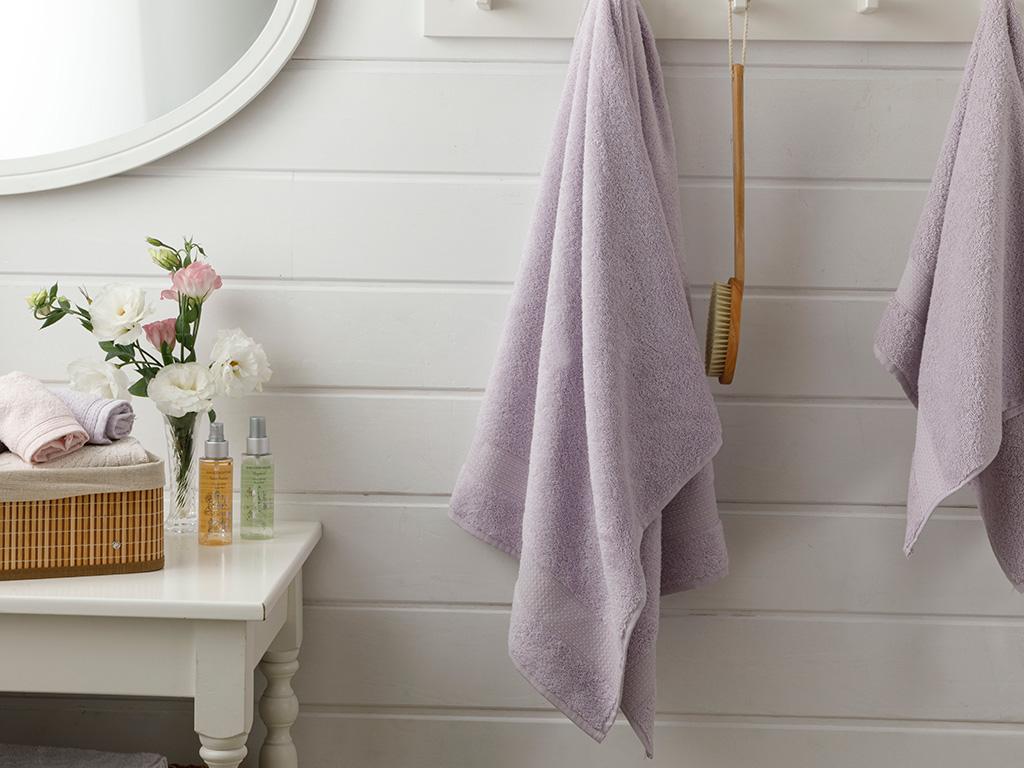 Pure Basic Bath Towel 100x150 Cm Lilac