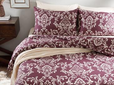 Ornamental Damasque Комплект Спално Бельо Единичен Размер 160x220 См Слива
