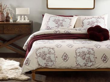 Chic Tuile Комплект Спално Бельо Единичен Размер 160x220 См Слива