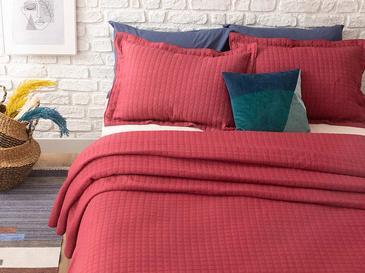 Merlin Покривка За Легло К Единични Жакардов 180 Ml Индиго