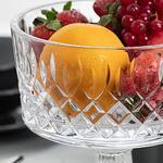 Victory Glass Presentation Bowl 15 Cm Transparent