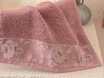 Rose Belle Хавлия за Ръце с Бордюр 30x40 См Пепел от Рози
