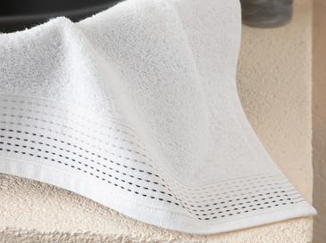 Stripes Хавлия за Ръце 30x40 См Бяло
