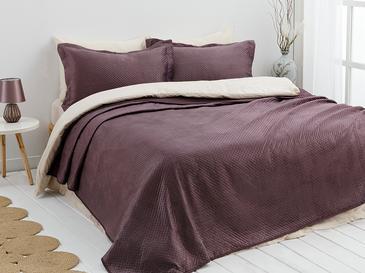 Soft Покривка За Легло К За Двама Кадифе 24,5x7,0x19,5 Cm