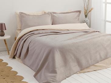 Soft Покривка За Легло К За Двама Кадифе 24,5x7,0x19,5 Cm Plum