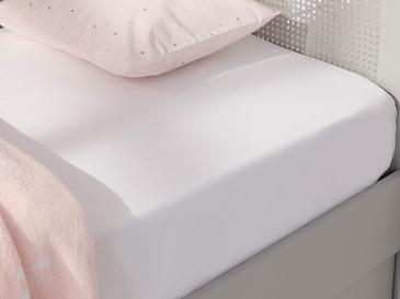 Soft Бебешки Чаршаф С Ластик 70x140 См Бяло