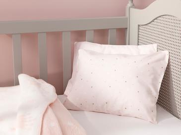 Mini Astro Бебешка Калъфка за Възглавница 35x45 См Розово