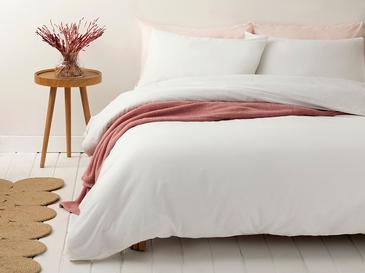 Pure Комплект Спално Бельо Единичен Размер 160x220 См Кремаво