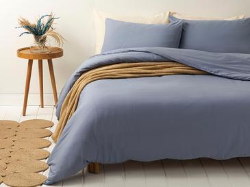 Pure Комплект Спално Бельо Единичен Размер 160x220 См Синьо