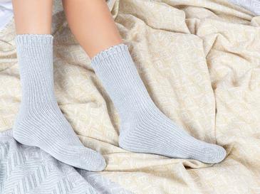 Velvet Дамски Чорапи 36-38 Сиво