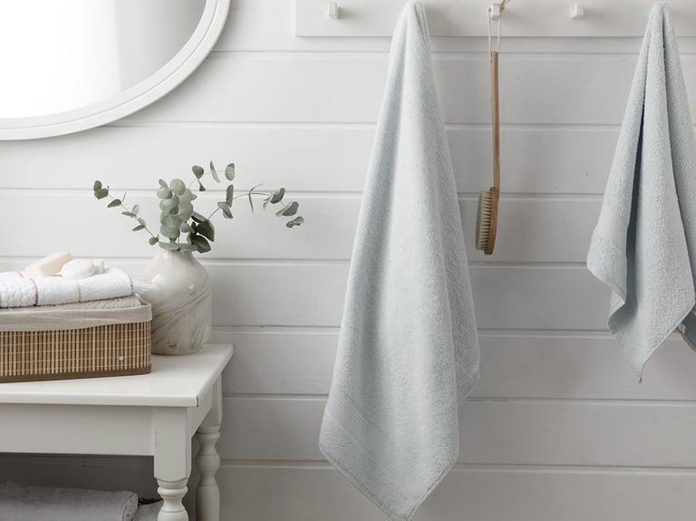 Pure Basic Bath Towel 100x150 Cm White