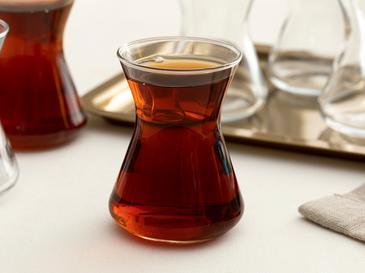 Plain Комплект Чаши за Чай 6 бр. 125 Мл Прозрачно