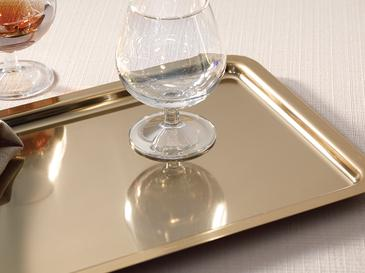 Shiny Табла Метален 23x16,5x26,5 Cm Злато