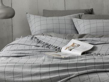 Check Комплект Покривало за Легло Единичен Размер 160x240 См Сиво