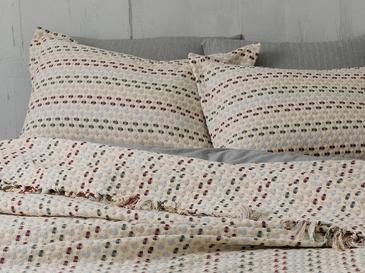 Loop Комплект Покривало за Легло Единичен Размер 160x240 См Слива-Сиво