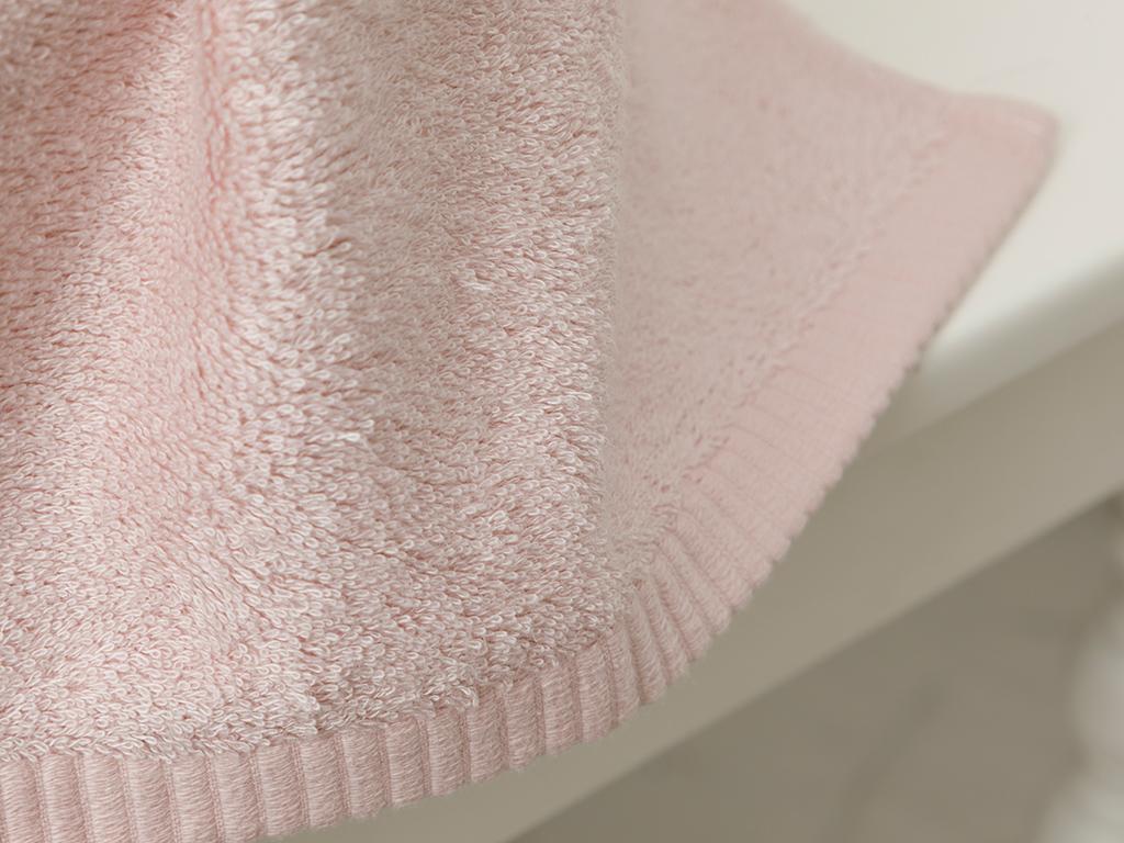 Leafy Bamboo Hand Towel 30x50 Cm Powder Pink