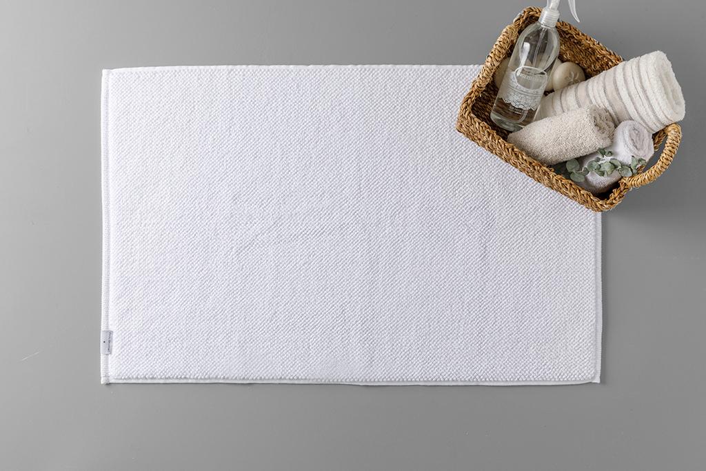 Curl Towel For Foot 50x80 Cm Beyaz