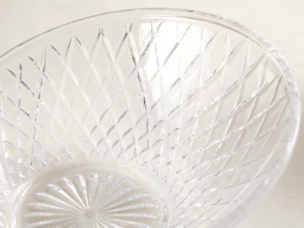 Puppy Glass Presentation Bowl 22 Cm Transparent