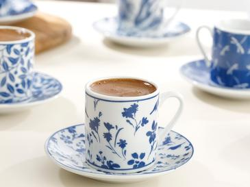 Bella Сервиз за Кафе 12 Бр. 80 Мл Тъмносиньо
