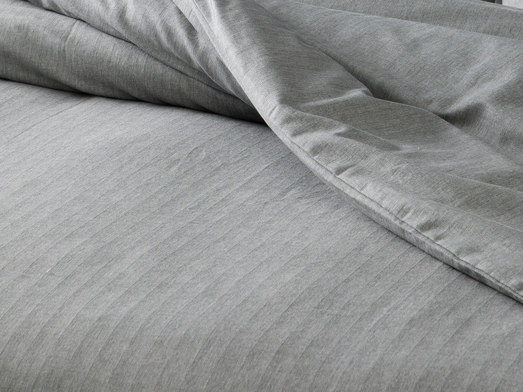Sharp Twill Suit For One Person Duvet Cover Set 160x220 Cm Gri