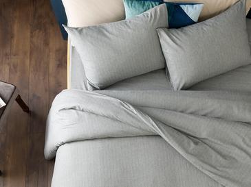 Sharp Спално Бельо Компле Единични 160x220cm Сиво
