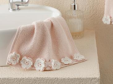Crochet Flowers Хавлии За Ръце 30x40x3 Cm Пудра Розово-екрю
