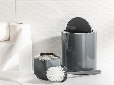 Elegance Комплект За Баня 2 Броя 19x21,5 Cm+10x10x37 Cm Антрацит