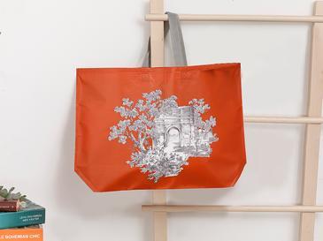 Tual Чанта 54,5x38 См Оранжево