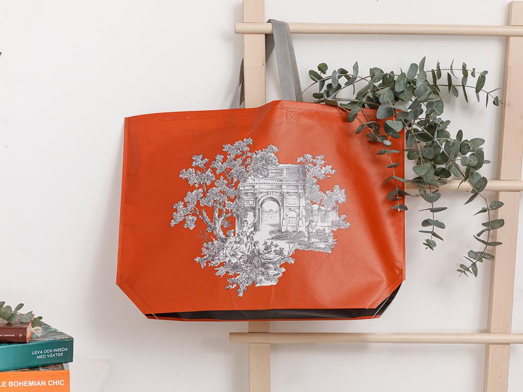 Tual Shopping Bag 54,5x38 Cm Orange