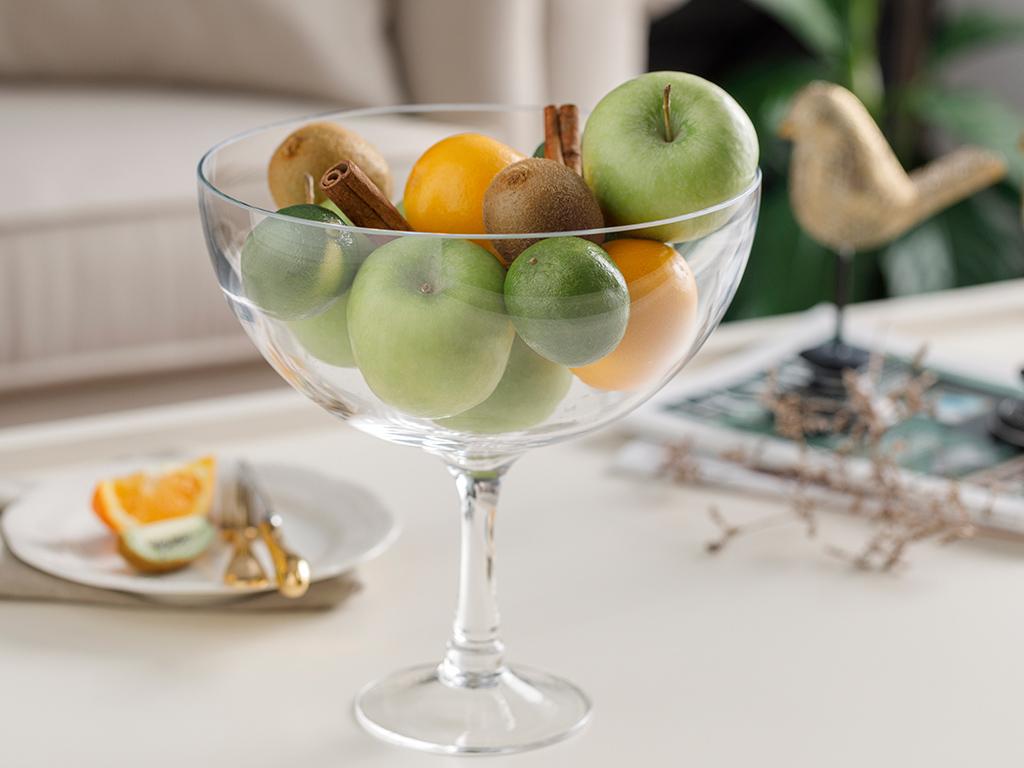 Wine Glass Bowl 24 Cm Transparent