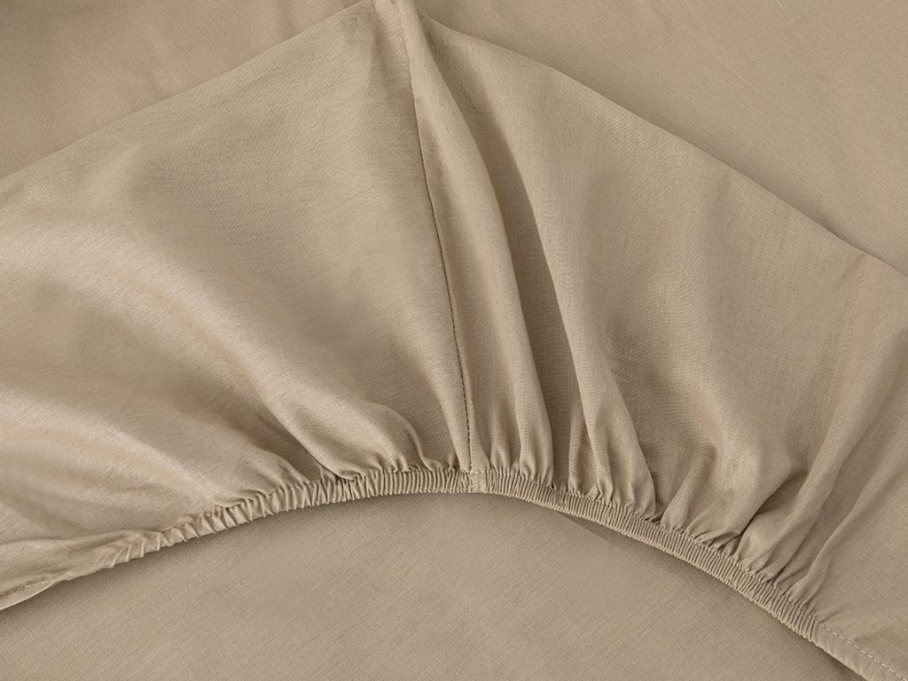 Plain Комплект Спално Бельо Единичен Размер 160x220 См Бежово