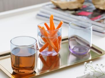 Degetto Чаша за Безалкохолно 3 Бр. 270 Мл Цветно