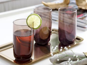 Degetto Чаша За Безалкохолно 3 Броя Стъкло 365 Ml