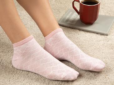 Silvery Дамски Чорапи Розово
