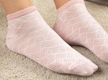 Silvery Чорапи Памучен Mix Розов