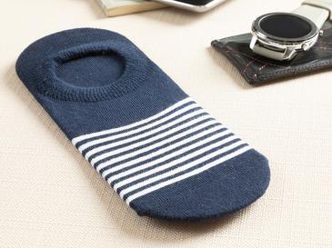 Marine Stripe Мъжки Чорапи Тъмносиньо