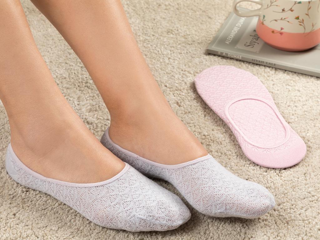 Cotton Socks Mix Lila - Pembe