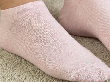 Melissa Чорапи Дамски Чорапи 2 Бр. Бяло-Розово