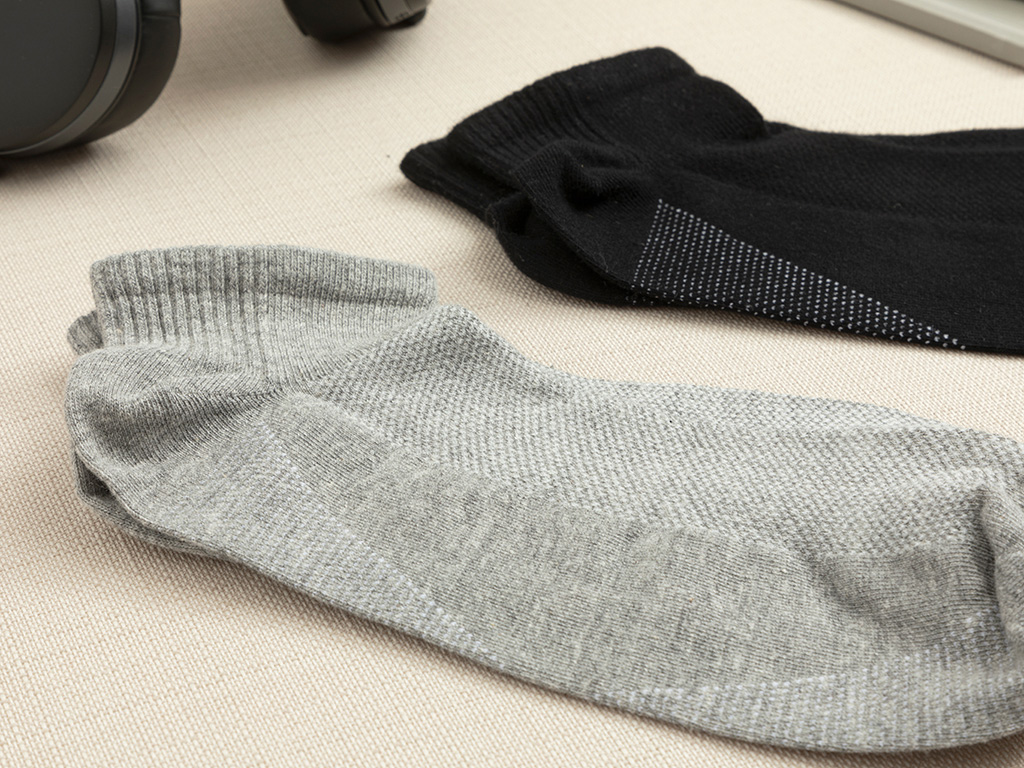 Cotton Socks Mix Black-gray