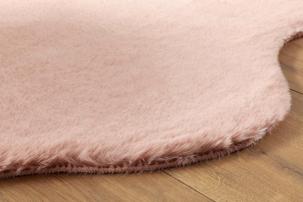 Polyestere Fake Fur 90 Ml. Pink