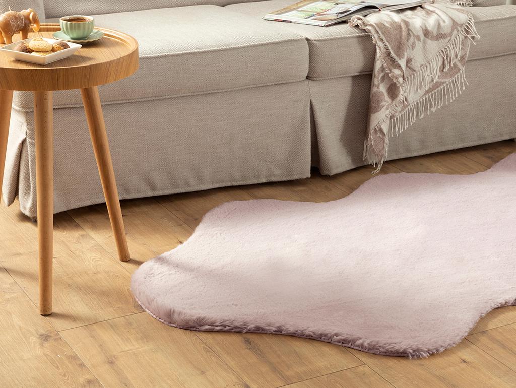 Polyestere Fake Fur 90 Ml. Light Damson