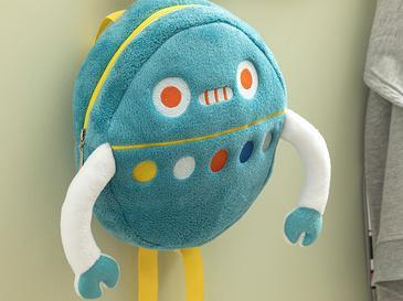 Happy Robots Детска Раница 25x25 См Зелено