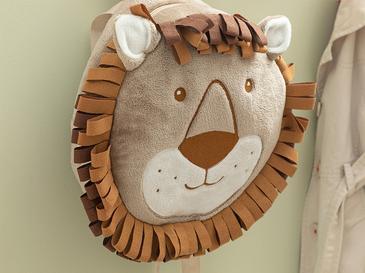 Lion Детска Раница 25x25 См Кафе