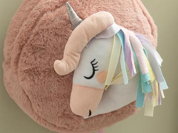 Mini Unicorn Полиестер 25x25 Cm Розов