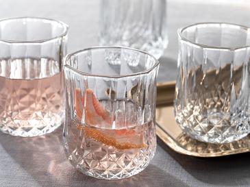Rich Чаша за Безалкохолно Стъкло 4 Бр. 200 Мл Прозрачно